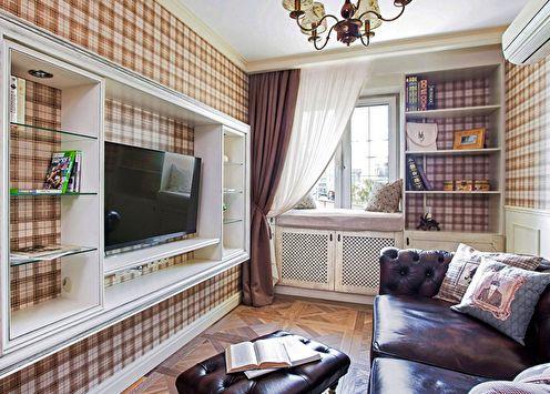 Дизайн интерьера гостиной (75+ фото)