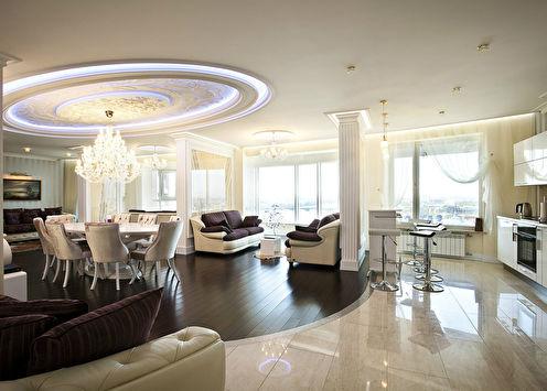 Интерьер квартиры в Санкт-Петербурге