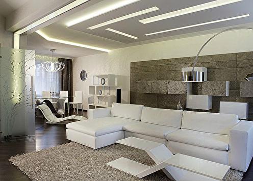 Квартира в стиле минимализм, Москва