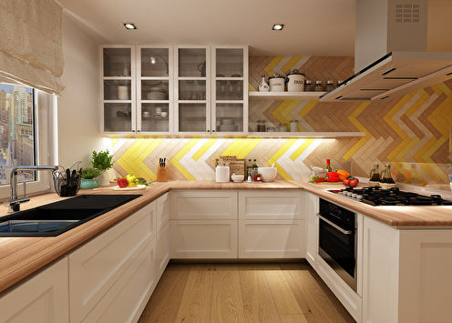 Дизайн кухни 19 кв.м.