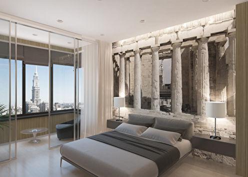 «Афины»: Дизайн-проект спальни