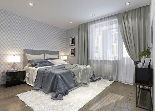 Спальня «50 оттенков серого»