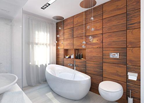 Ванная «Тепло натурального дерева»