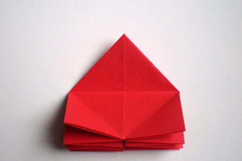 Роза своими руками в технике оригами