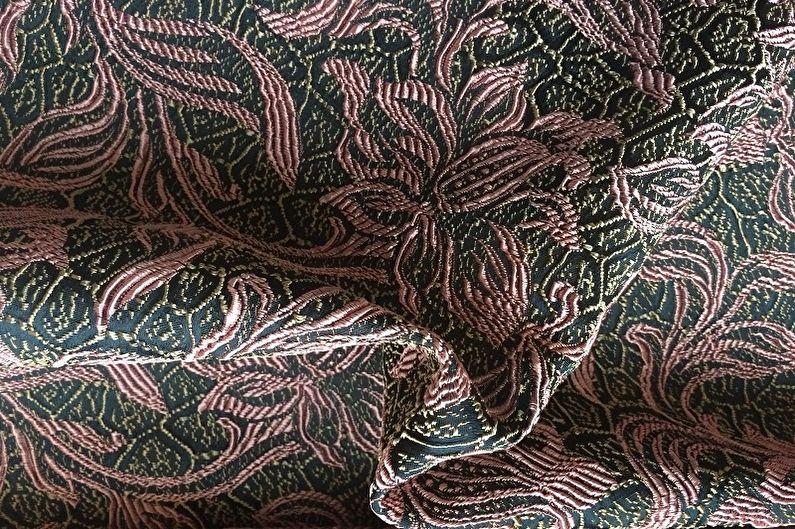 Döşemelik kumaş türleri - Jakarlı