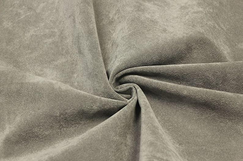 Döşemelik kumaş türleri - Süet