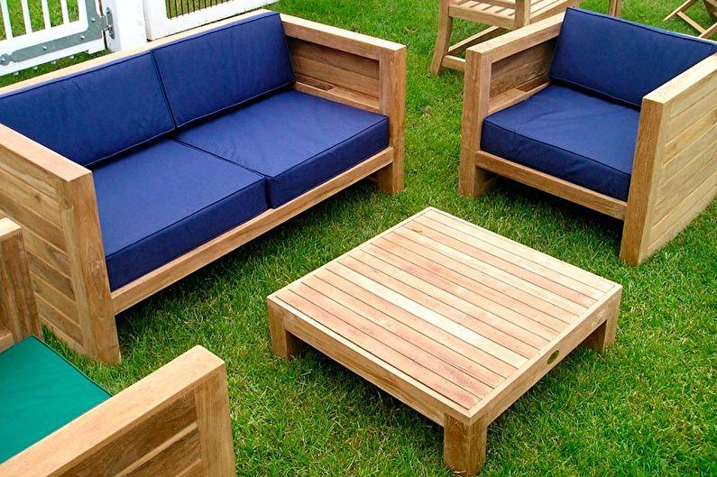 Bahçe mobilyası döşemelik kumaş