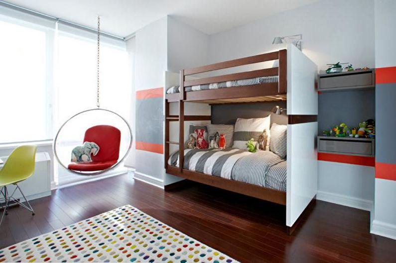 Двухъярусная кровать с диваном - Преимущества