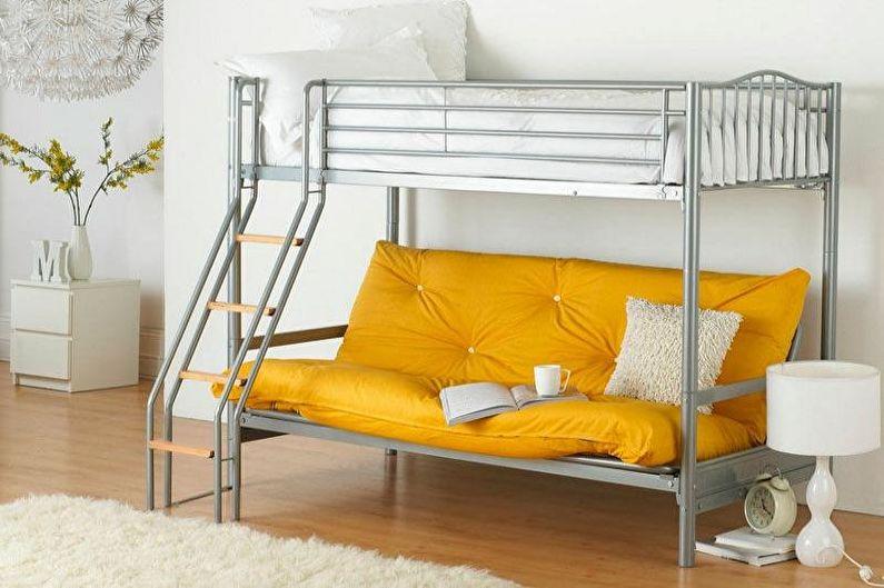 Диван двухъярусной кровати