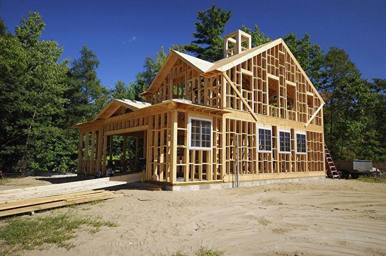 Что такое каркасный дом