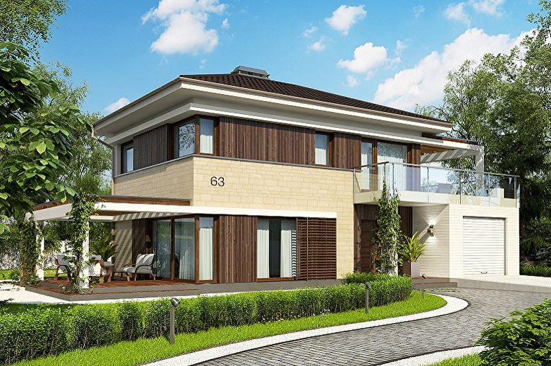 Каркасные дома - Выбираем этажность