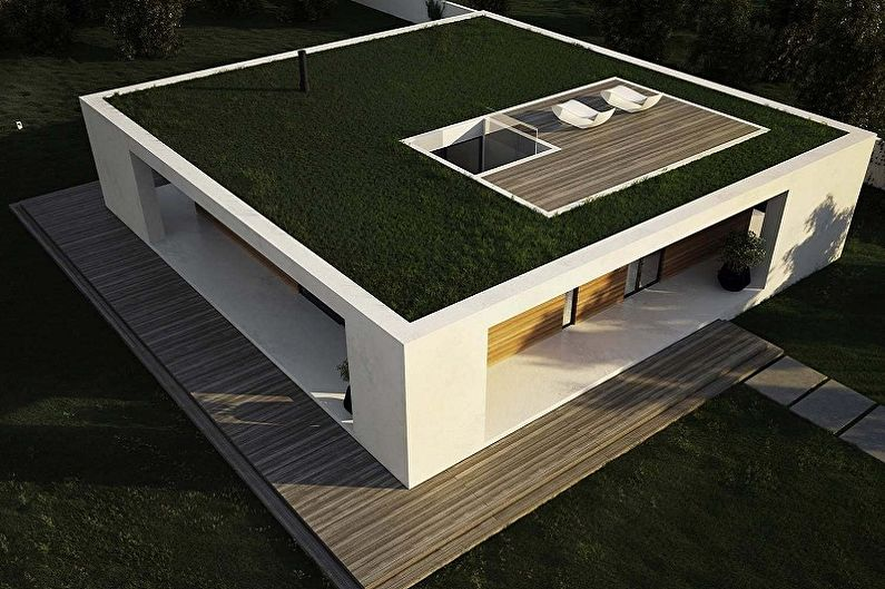 Идеи планировки каркасных домов - Выбираем форму крыши