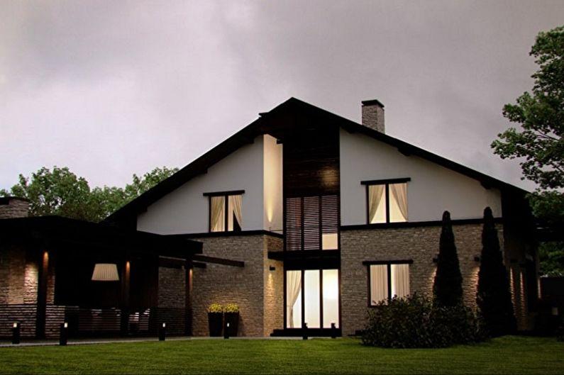 Каркасные дома - фото и проекты