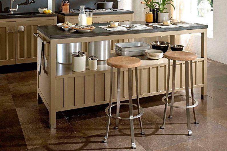 Барные стулья для кухни - Преимущества и недостатки