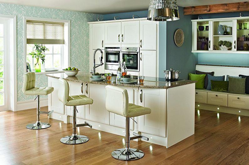 Барные стулья для кухни (80+ фото)