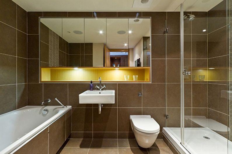 Зеркало в ванную комнату (85 фото): виды и модели, как выбрать