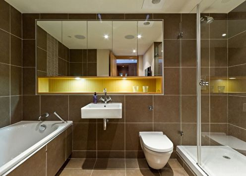 Зеркало в ванную комнату (85+ фото)