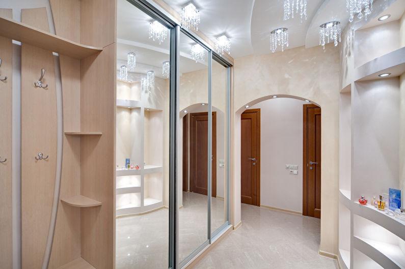 Дизайн прихожей в современном стиле - Мебель