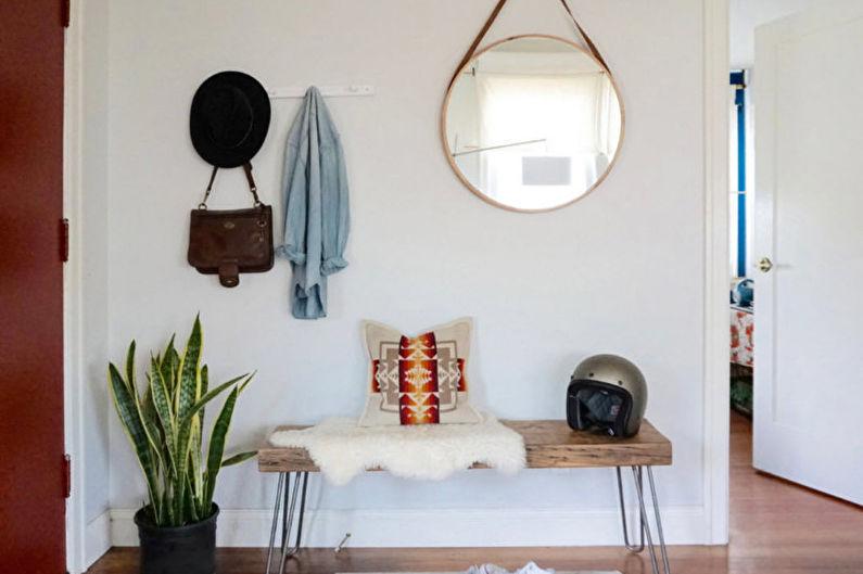 Дизайн прихожей в современном стиле - Декор и освещение