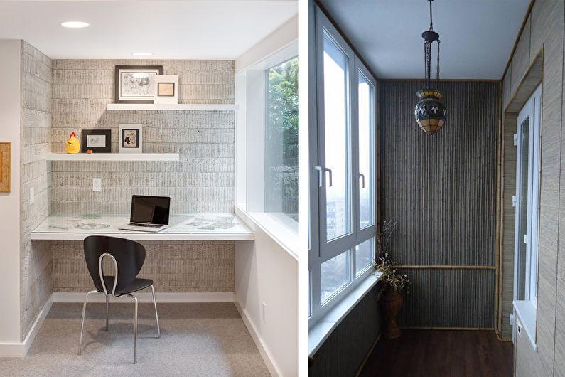 Бамбуковые обои в интерьере (50 фото): идеи для кухни, спаль.