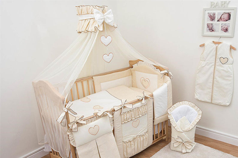 Балдахин на детскую кроватку - Ткань