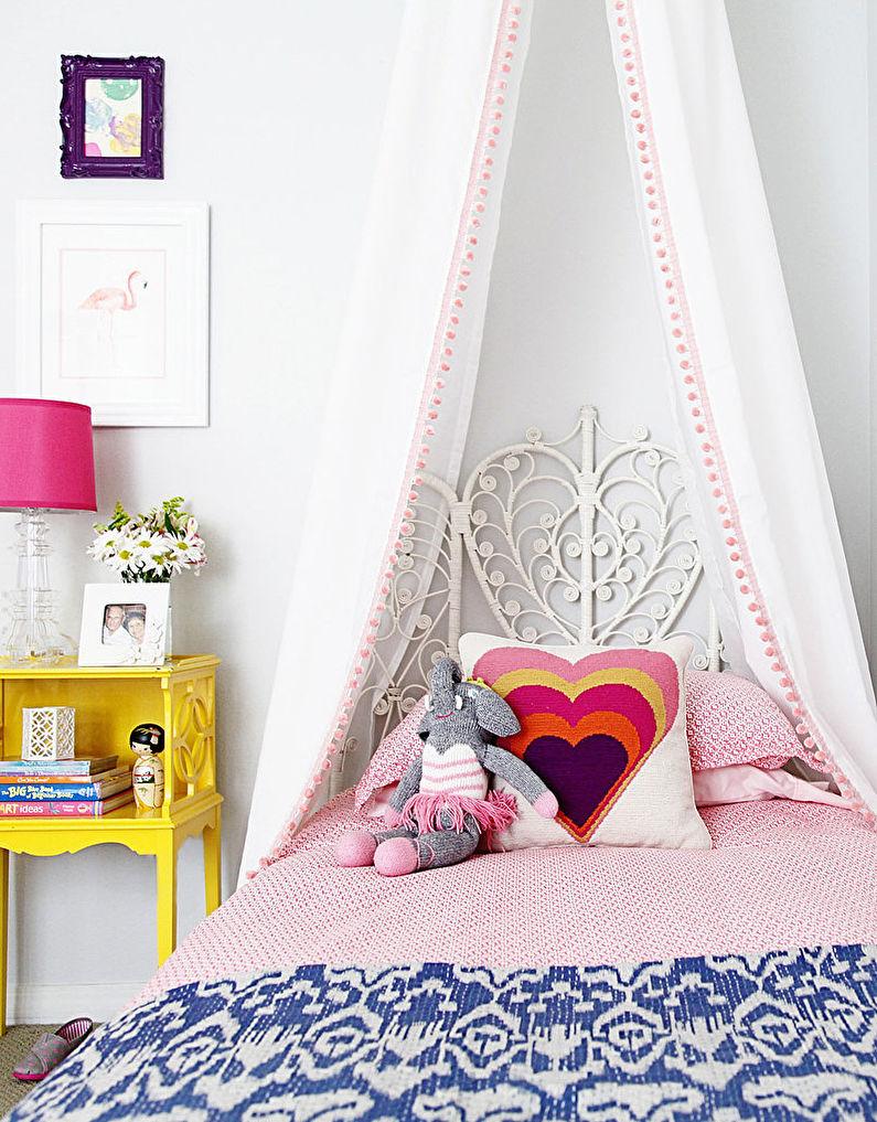 Балдахин в кроватку своими руками фото