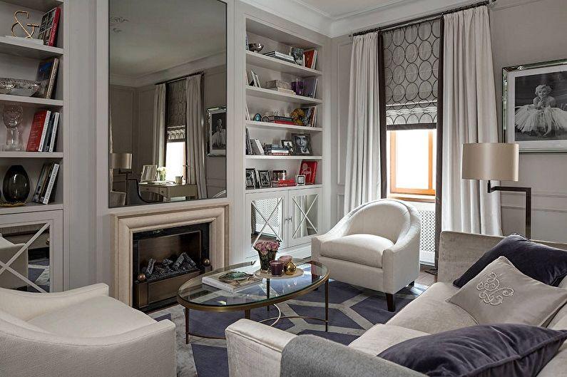 Дизайн гостиной в классическом стиле - Особенности