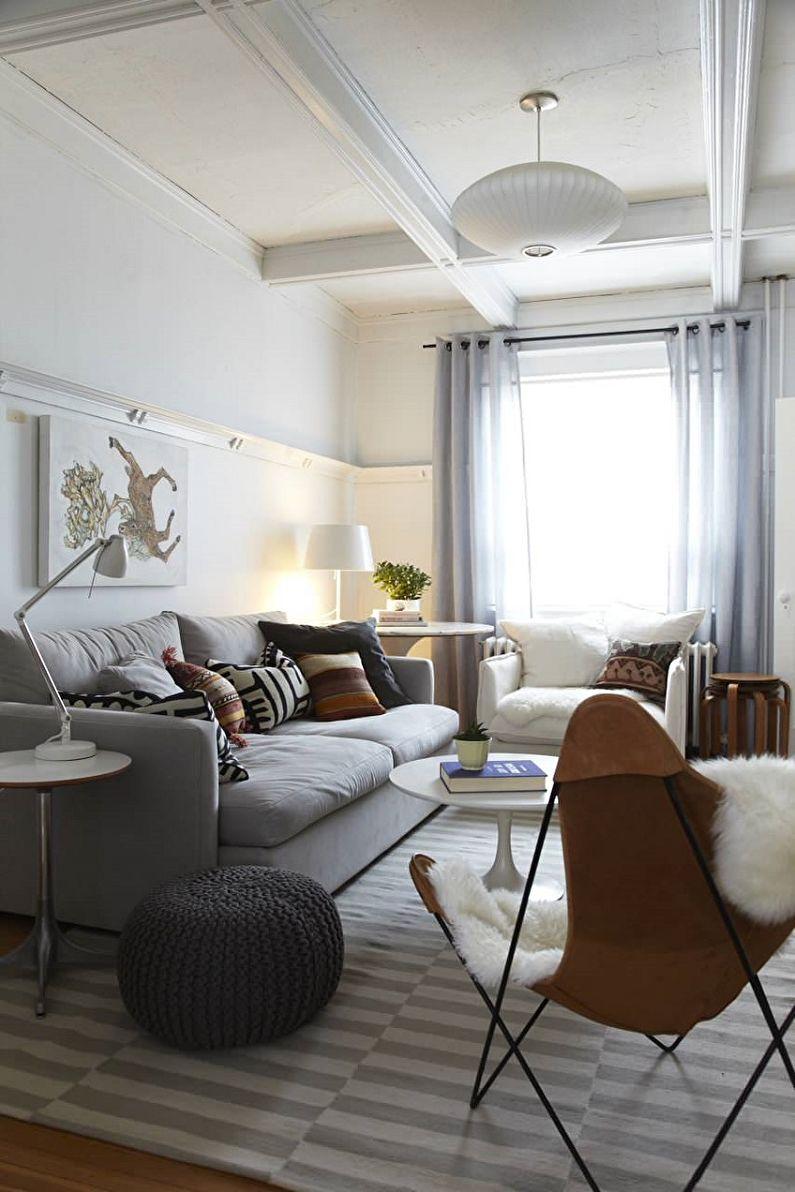 Скандинавский стиль в интерьере - Декор и текстиль