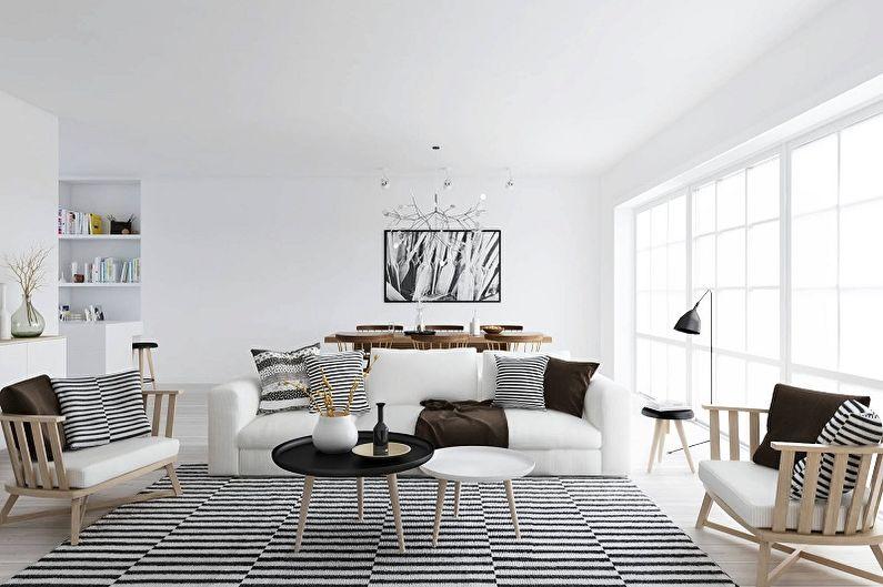 Скандинавский стиль в интерьере - Мебель