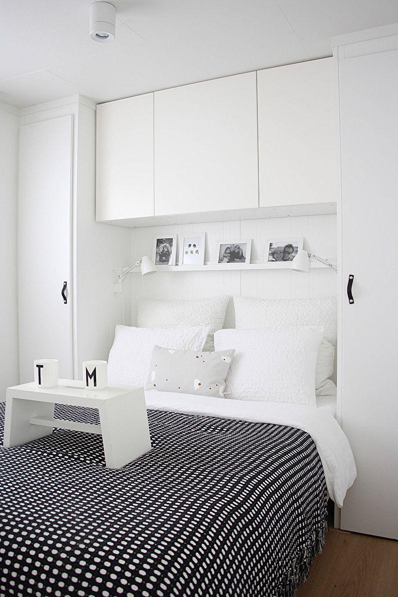 Спальня в скандинавском стиле фото - Дизайн интерьера