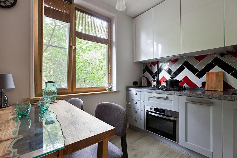 Дизайн кухни 7 кв.м. - Мебель