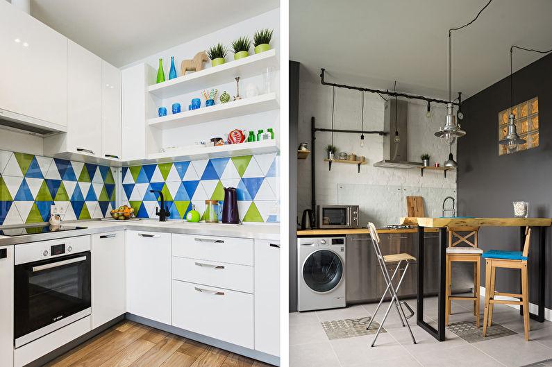 Дизайн кухни 7 кв.м. - Планировка