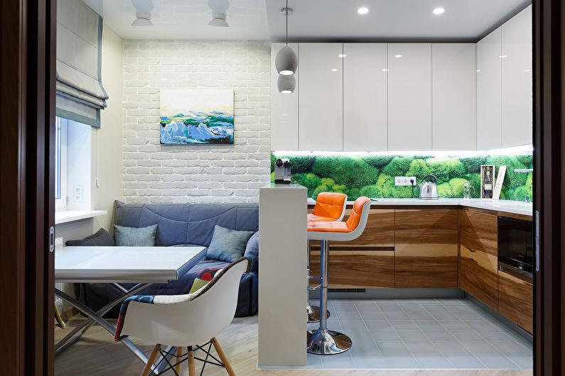 Мини-диван для кухни