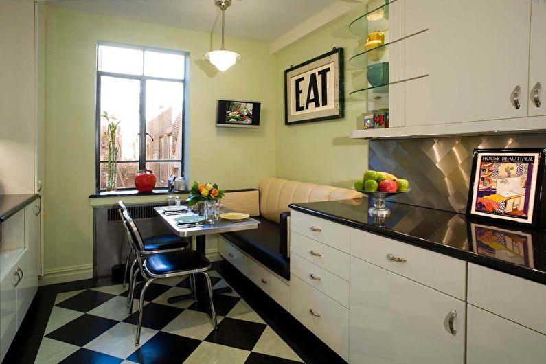 Совмещенный диван для кухни
