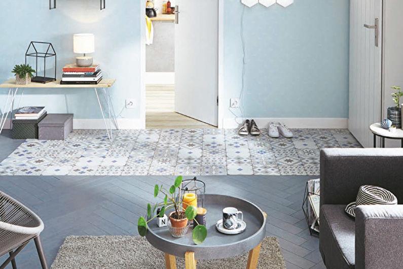 Дизайн гостиной 15 кв.м. - Пастельные оттенки