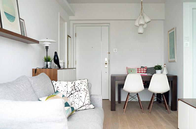 Дизайн гостиной 15 кв.м. - Отделка пола