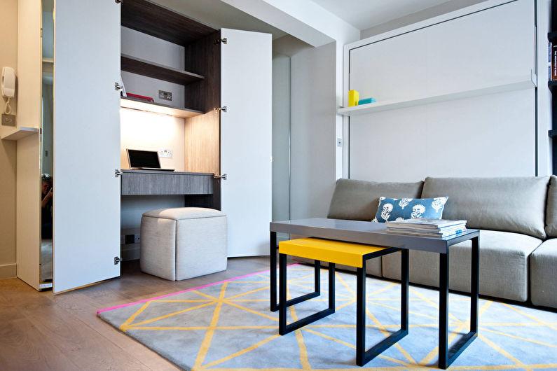 Дизайн гостиной 15 кв.м. - Мебель и техника