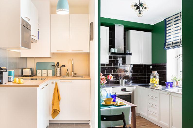 Мебель для маленькой кухни - Главные особенности