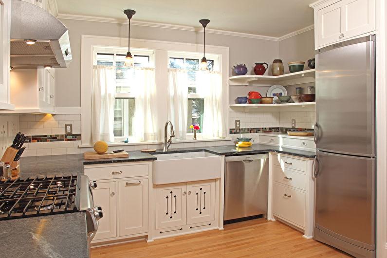 Мебель для маленькой кухни - Как выбрать цвет и дизайн