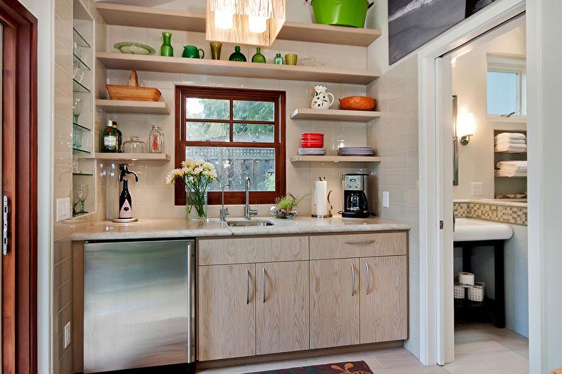Мебель для маленькой кухни - Как расставить мебель, варианты планировок