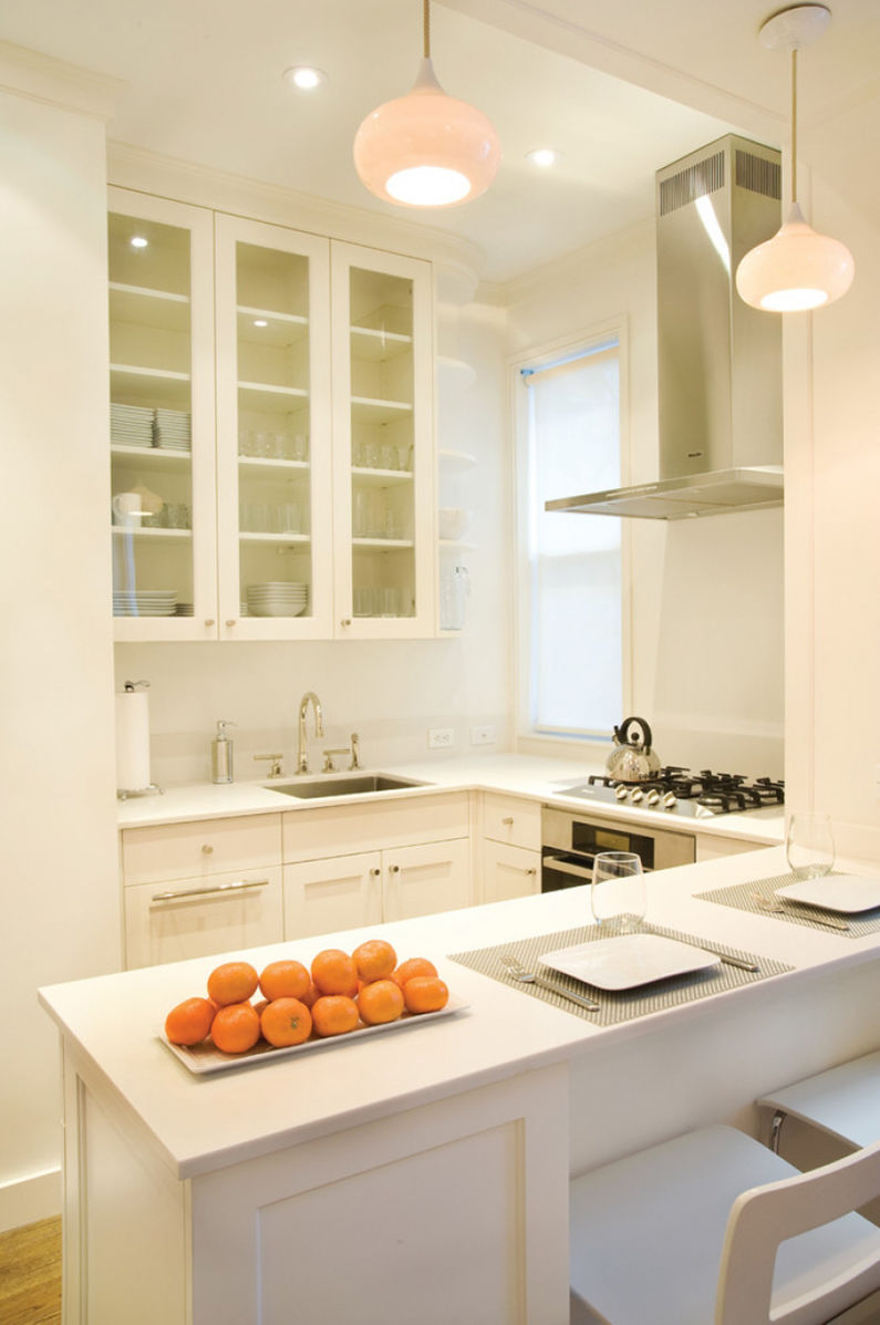 Мебель для маленькой кухни - фото