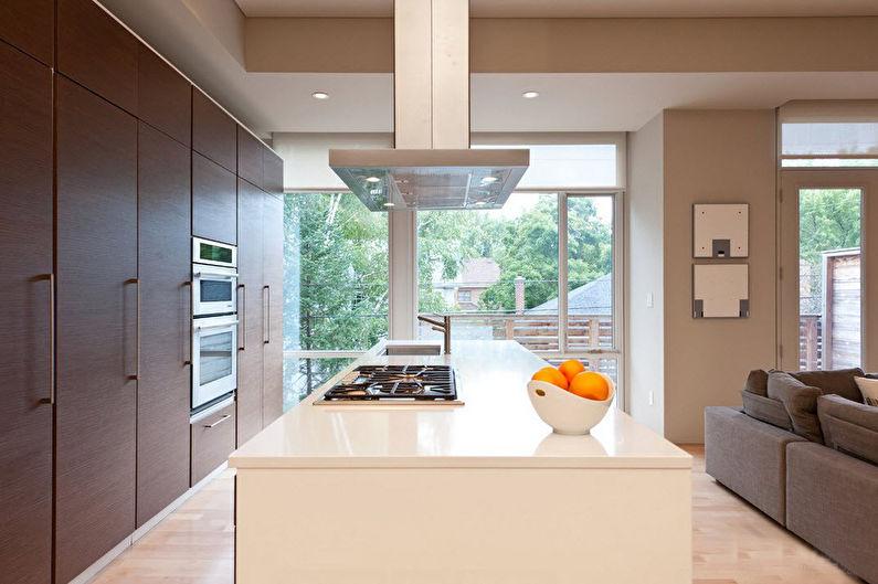 Цвет венге на кухне - Дизайн интерьера