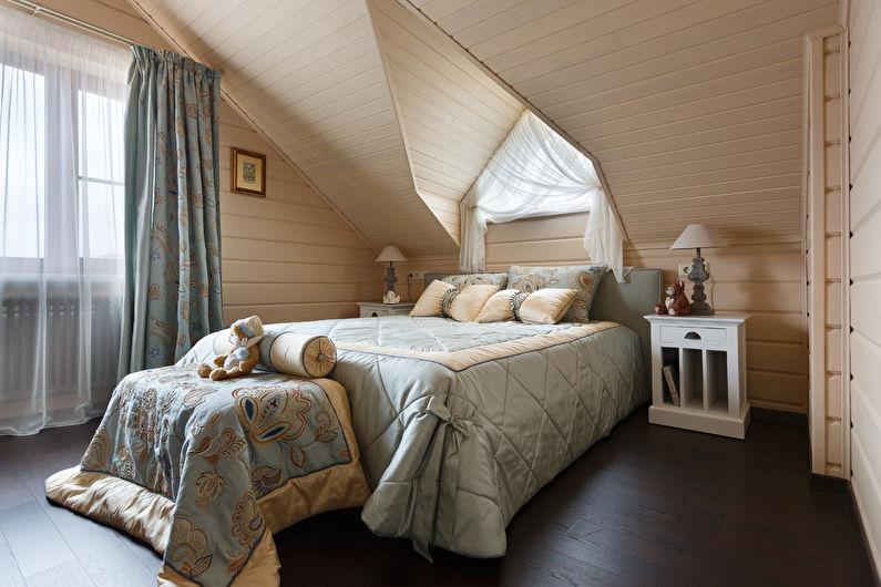 Цвет венге в спальне - Дизайн интерьера