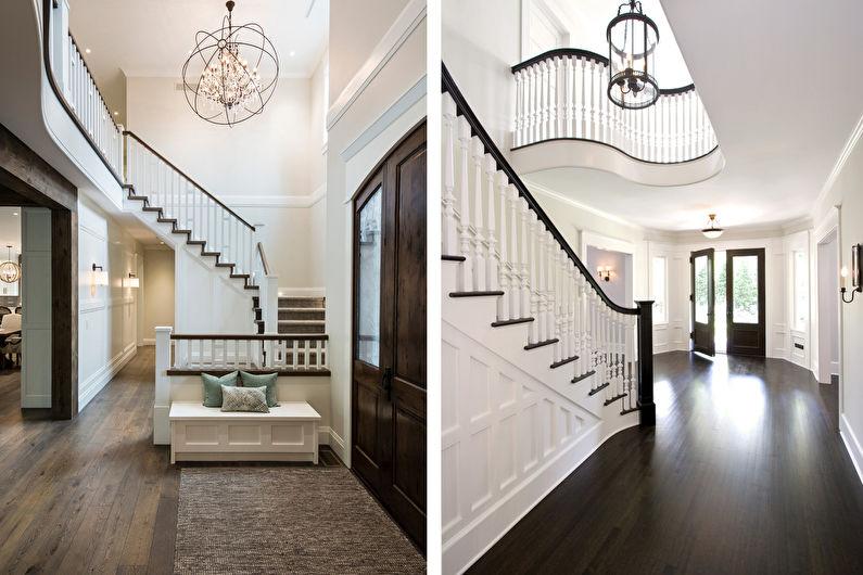 Цвет венге в прихожей и коридоре - Дизайн интерьера
