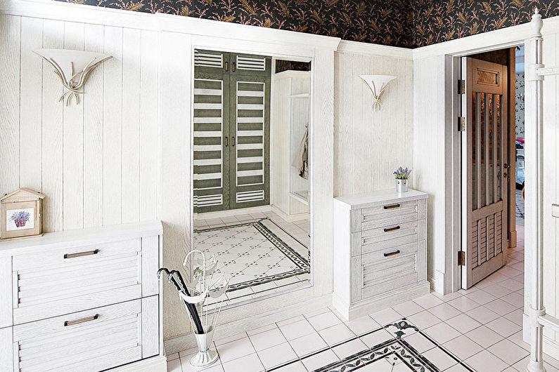 Напольная плитка для прихожей в скандинавском стиле