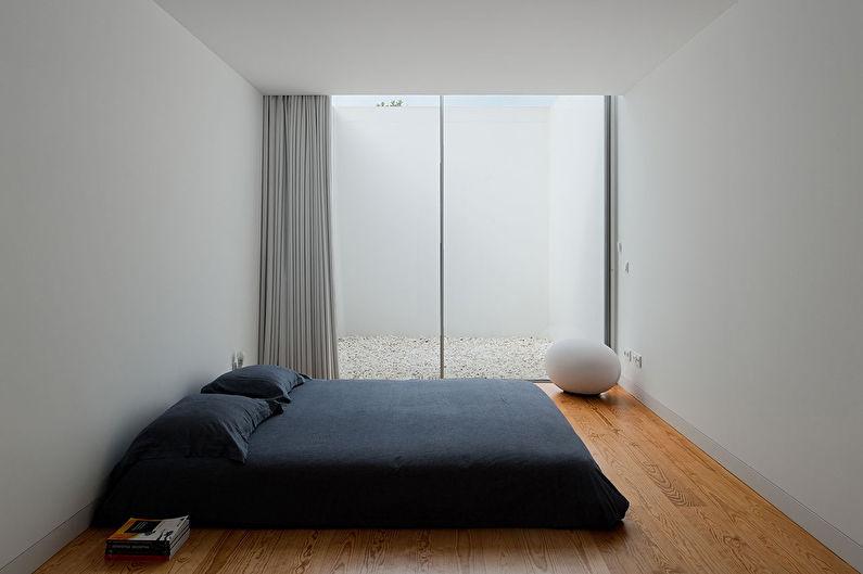 Дизайн спальни в стиле минимализм - Особенности