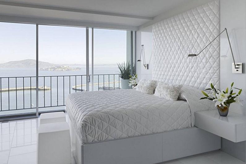 Дизайн спальни в стиле минимализм - Мебель