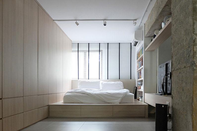 Дизайн узкой спальни - Советы по выбору стиля