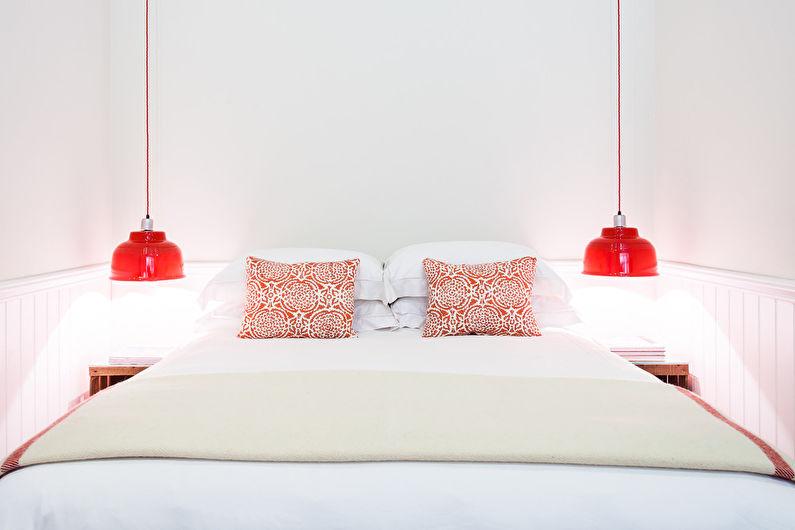 Дизайн узкой спальни - Цветовые решения