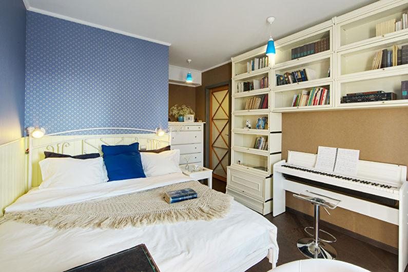 Дизайн узкой спальни - Другие предметы мебели